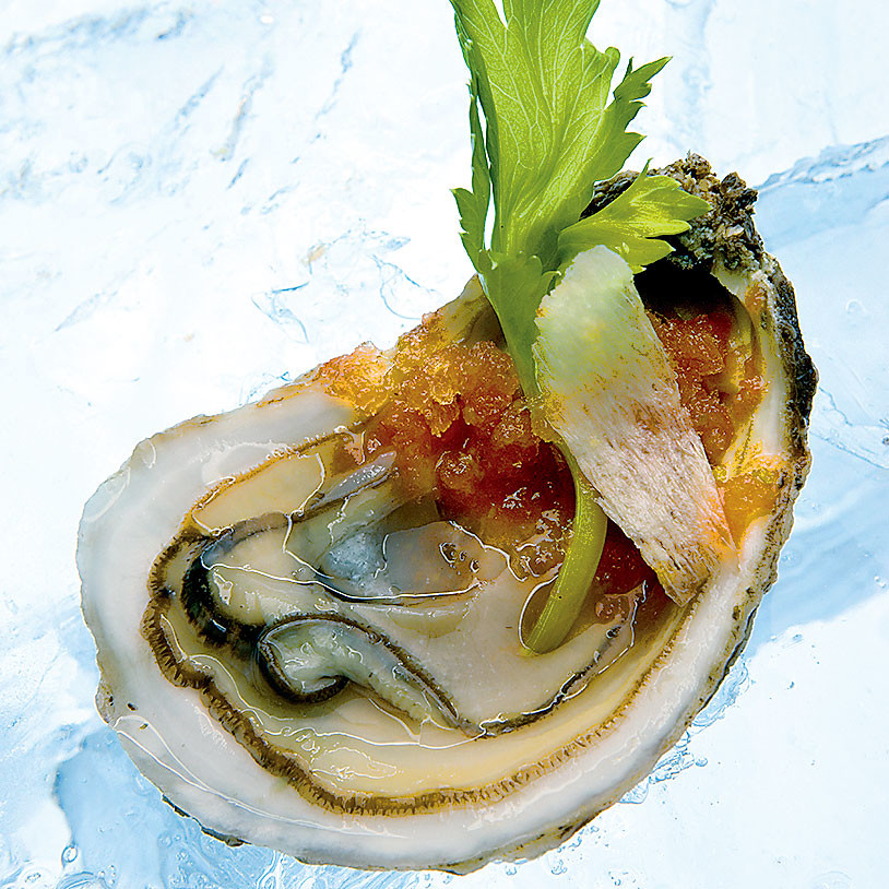 panned oysters