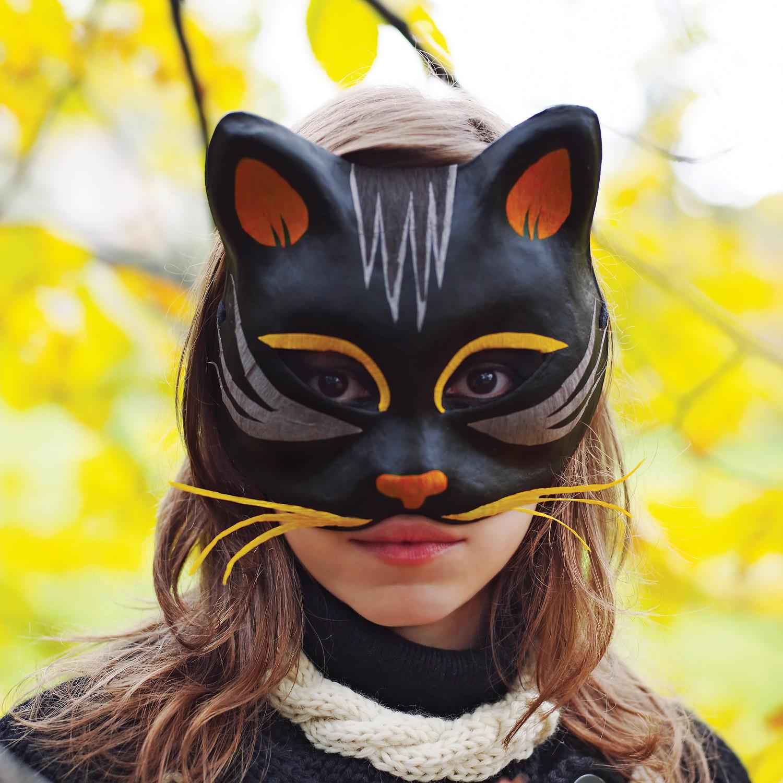 Black Cat Mask Amp Video Martha Stewart
