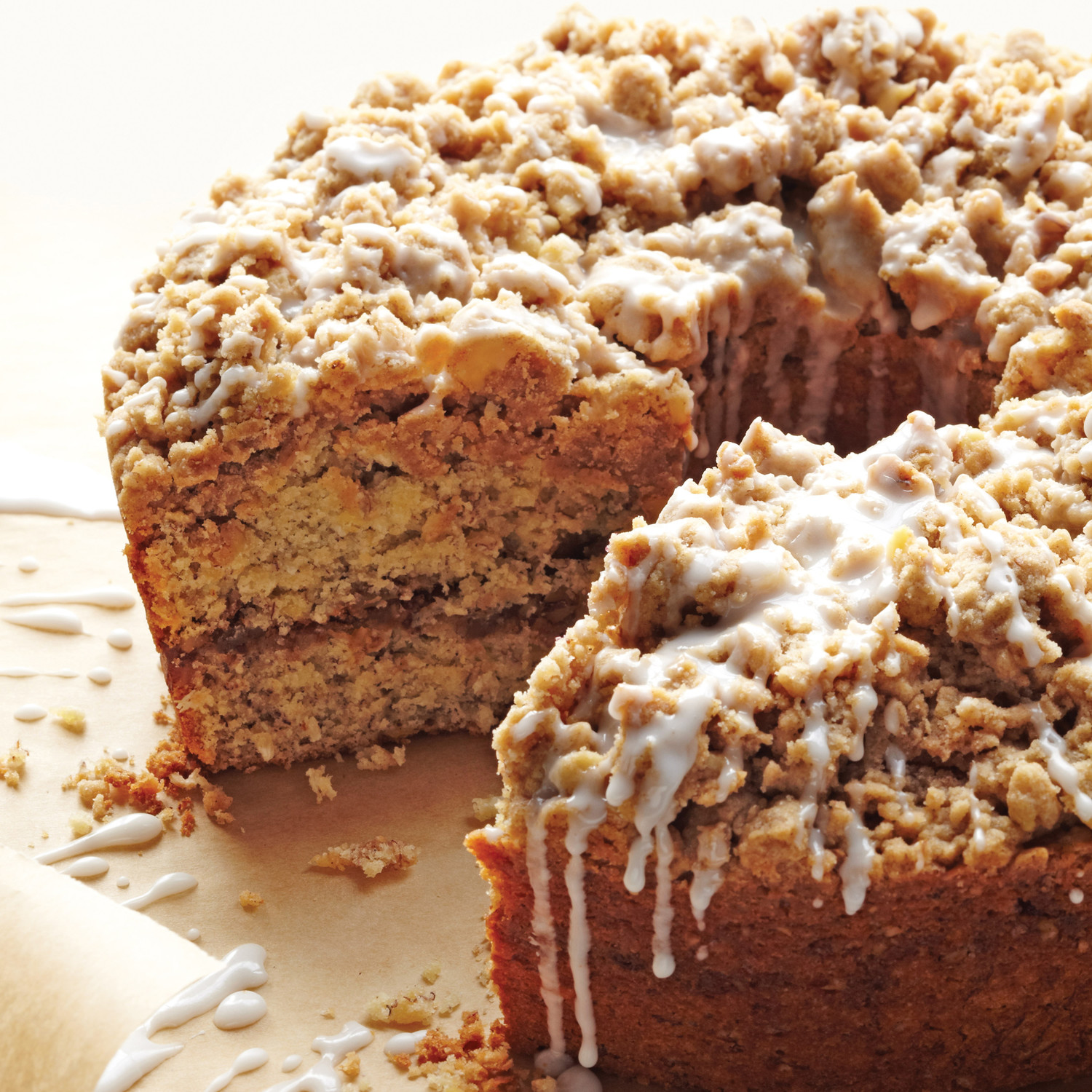 Apple Streusel Coffee Cake Yogurt