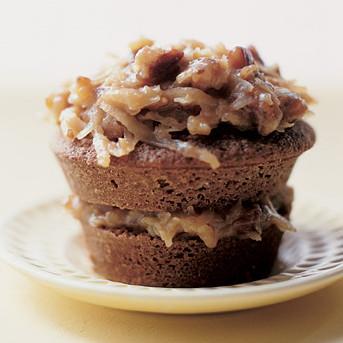 German Chocolate Cupcakes Recipe | Martha Stewart