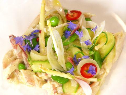 Video Peekytoe Crab Salad Martha Stewart
