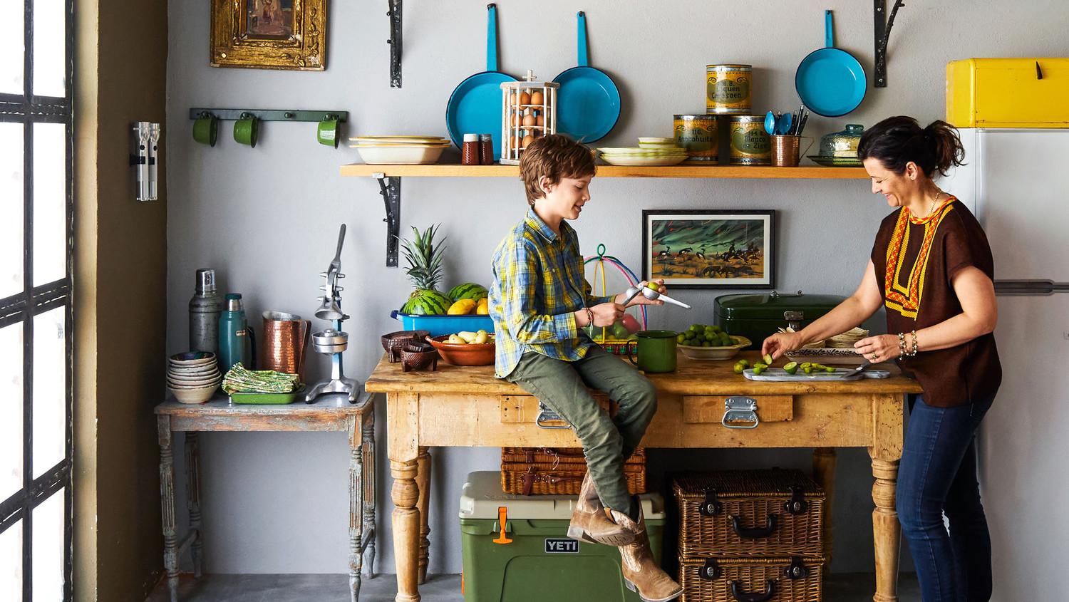 This Colorful Vacation Home Is Bursting with Cowboy Spirit