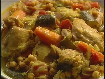 Video Recipe For Moroccan Chicken Martha Stewart