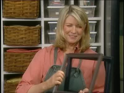 Video: Refurbishing Picture Frames | Martha Stewart
