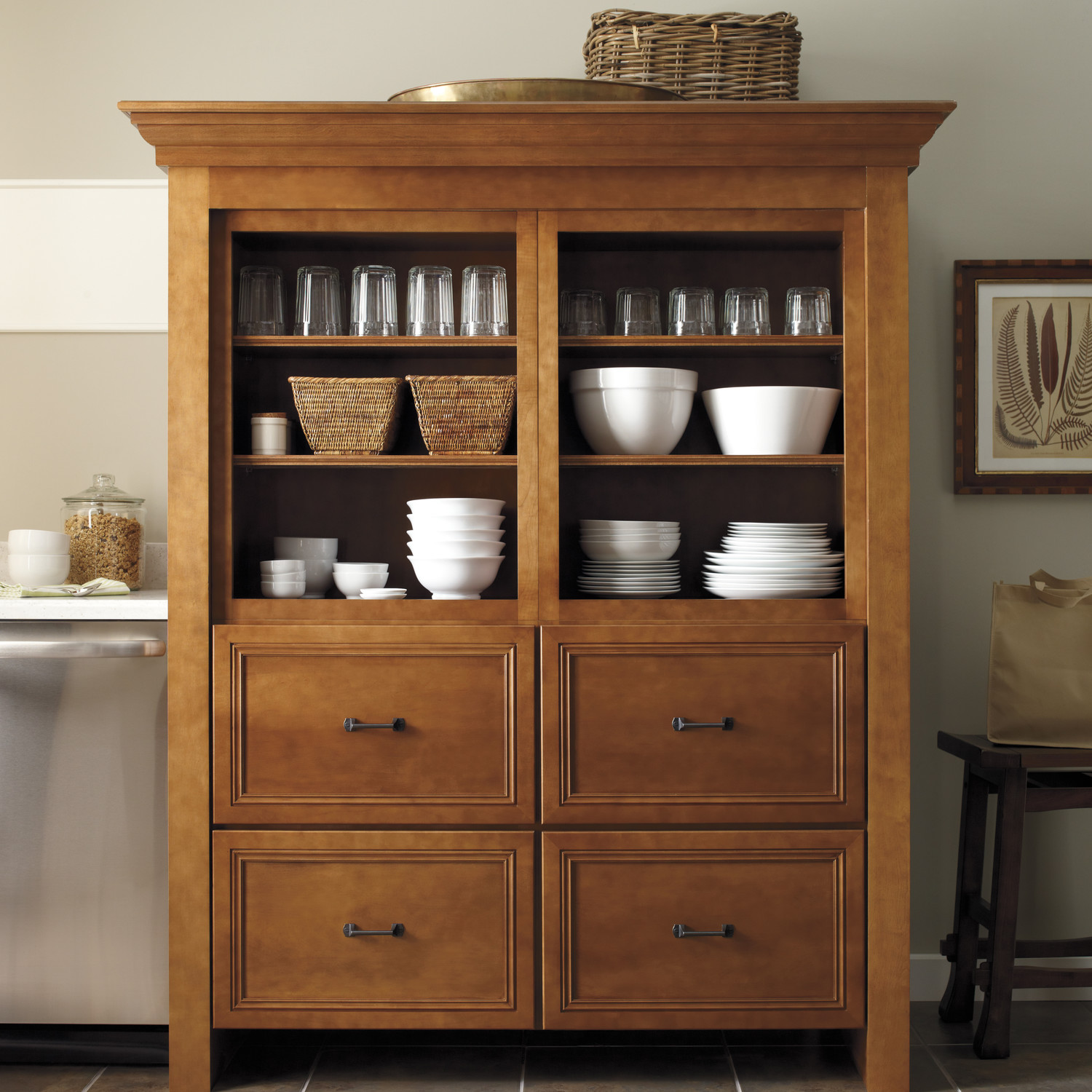 Home Depot Pantry Cabinet With Martha Stewart Living Cabinet Solutions From  The Home Depot With Corner