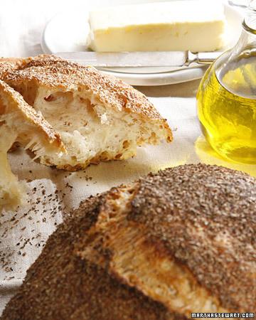 No Knead Bread Recipe Amp Video Martha Stewart