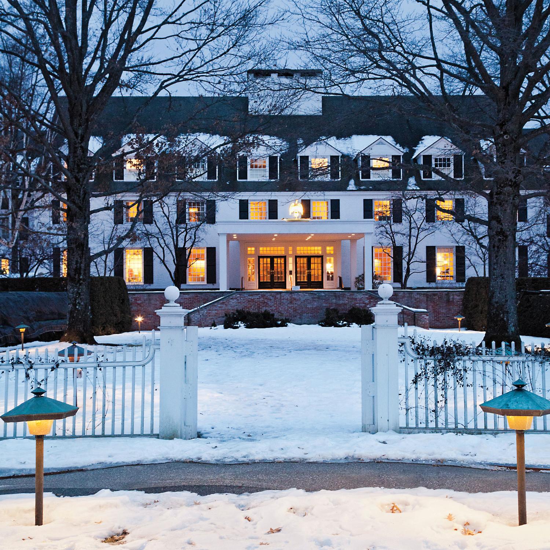 A Winter Getaway To Woodstock Martha Stewart