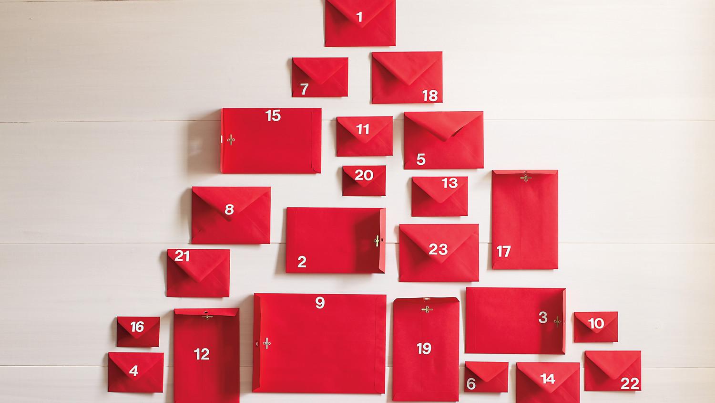 Minimalist Advent Calendar : Easy advent calendar martha stewart