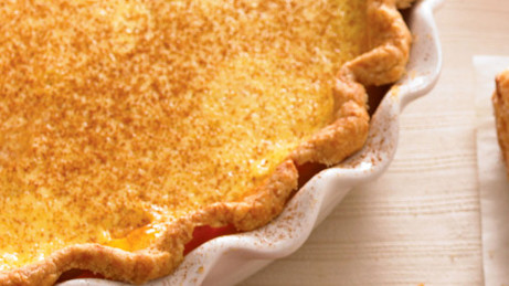 Cinnamon Custard Pie