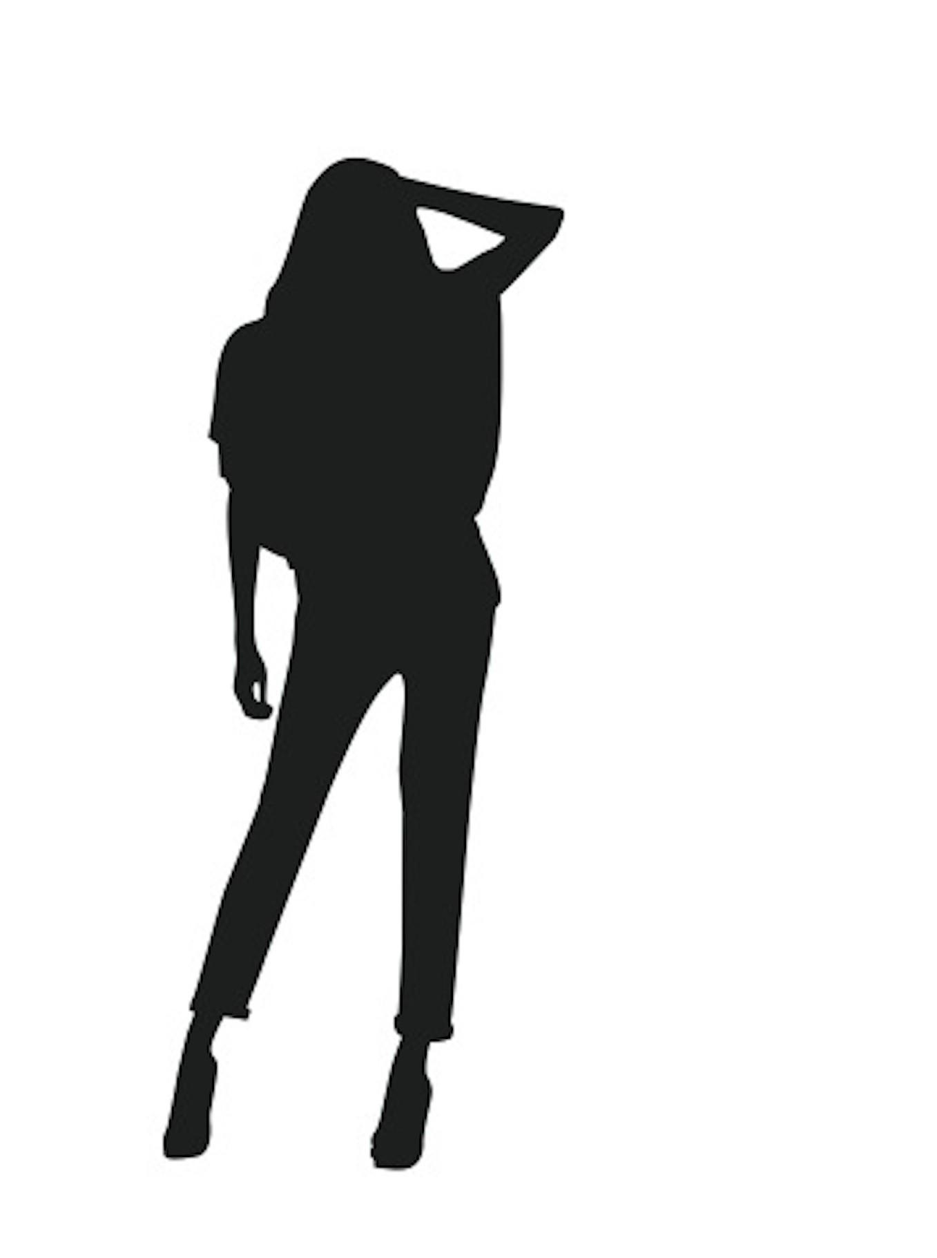 fashion silhouette description - HD1357×1821