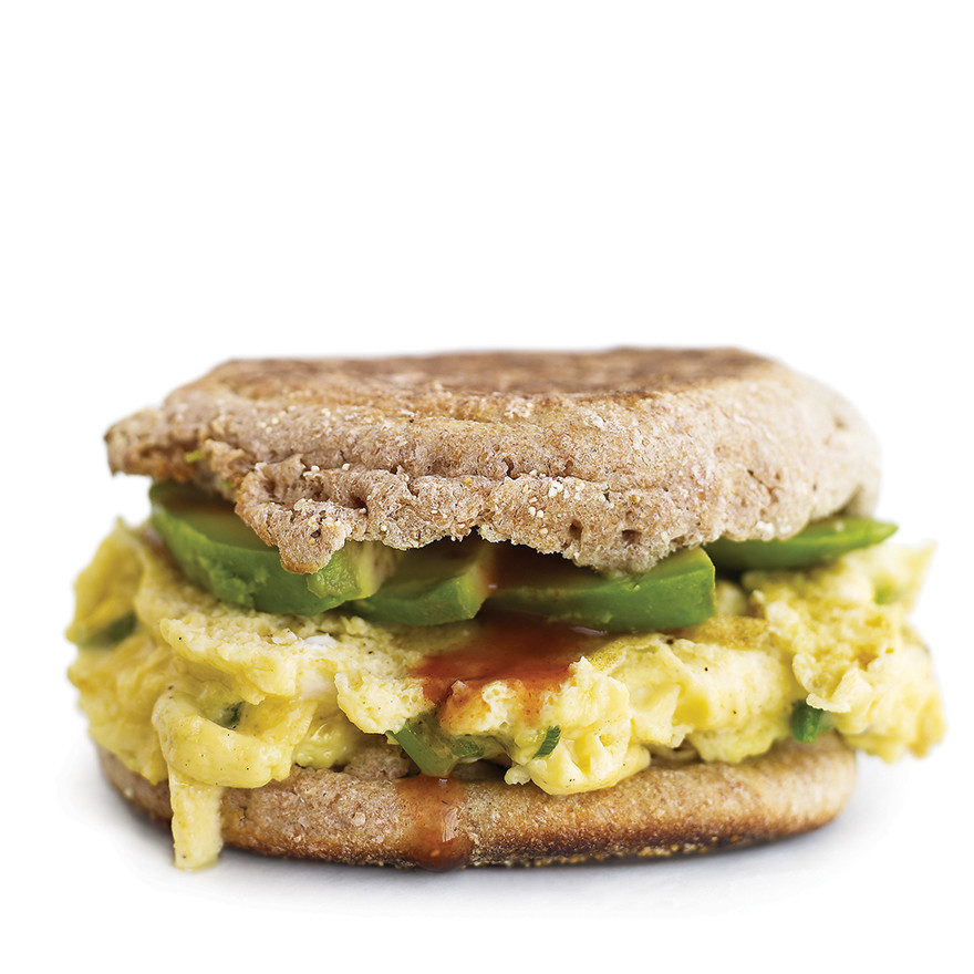 Egg-and-Avocado Sandwich Recipe | Martha Stewart