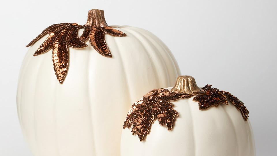 Appliqué Pumpkins