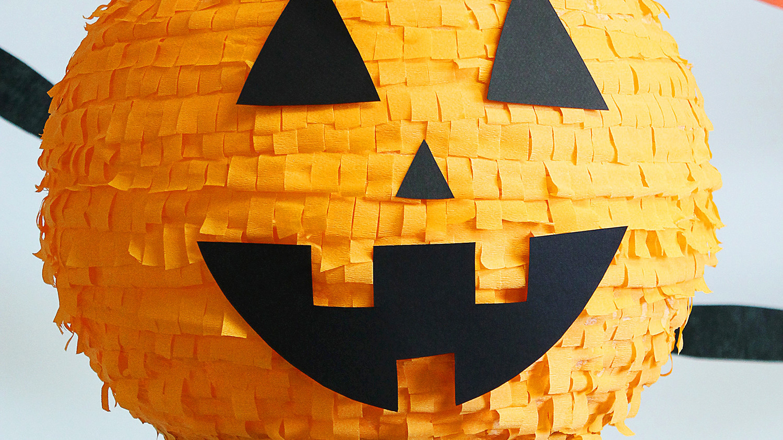Halloween Pumpkin Piñata