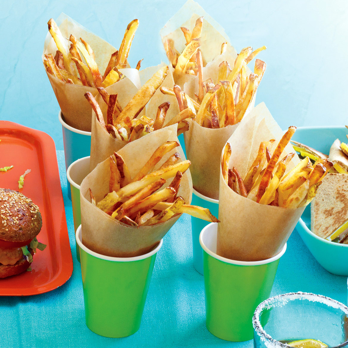 French fries in the oven. Cooking recipes 89