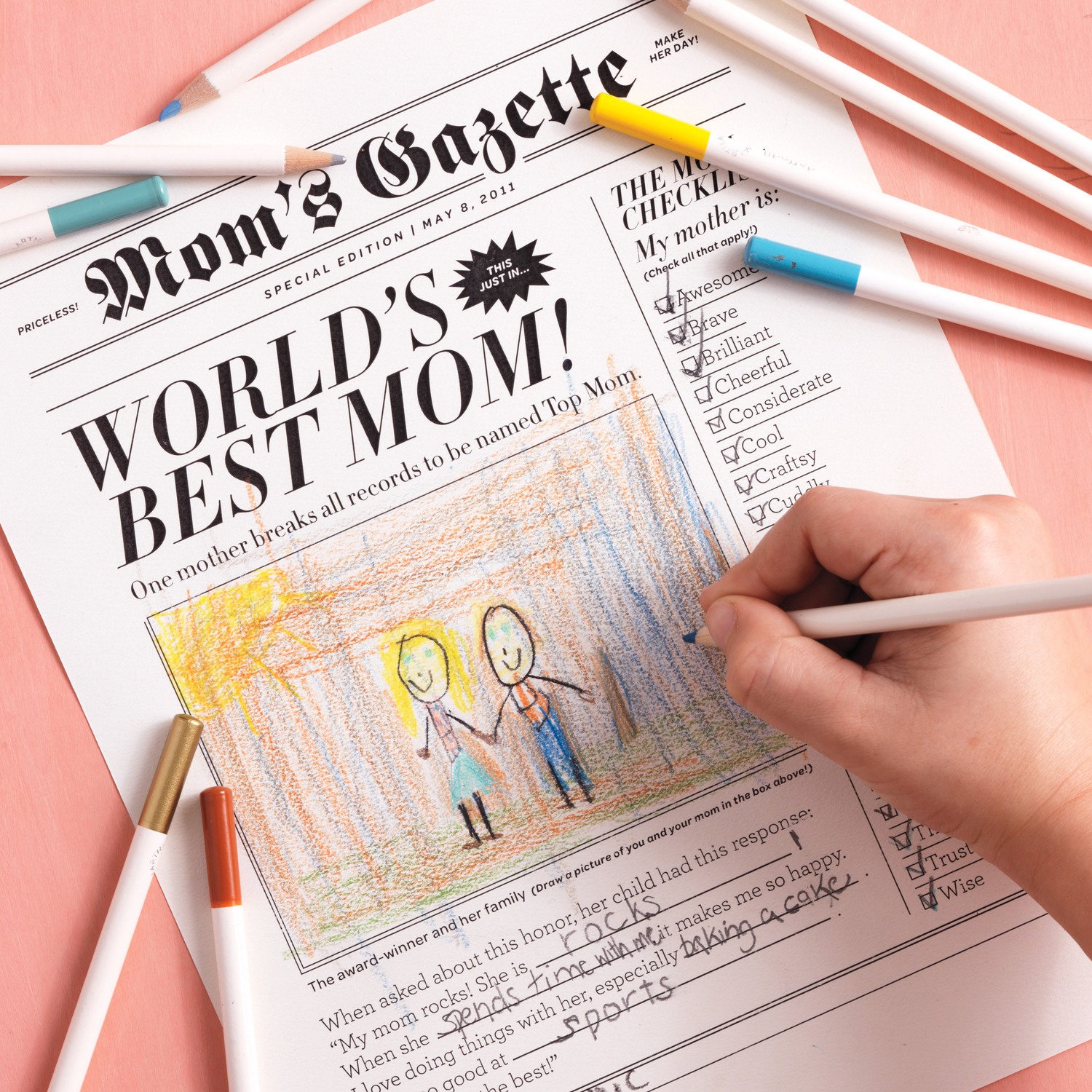 Mother S Day Newspaper Martha Stewart