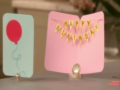 Homemade Birthday Card Craft Ideas