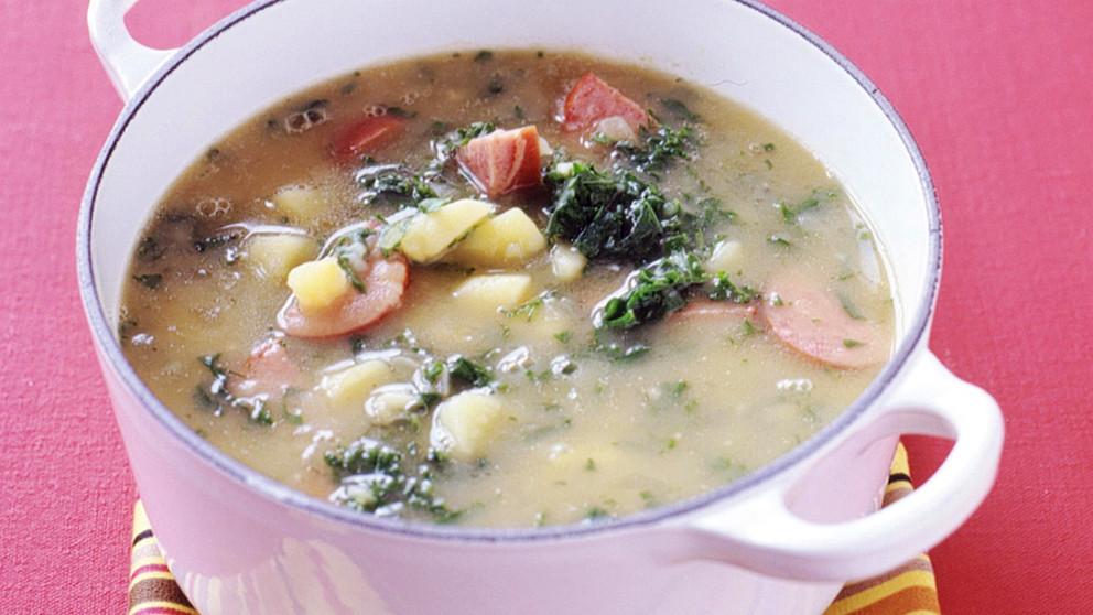 kale powder-soup