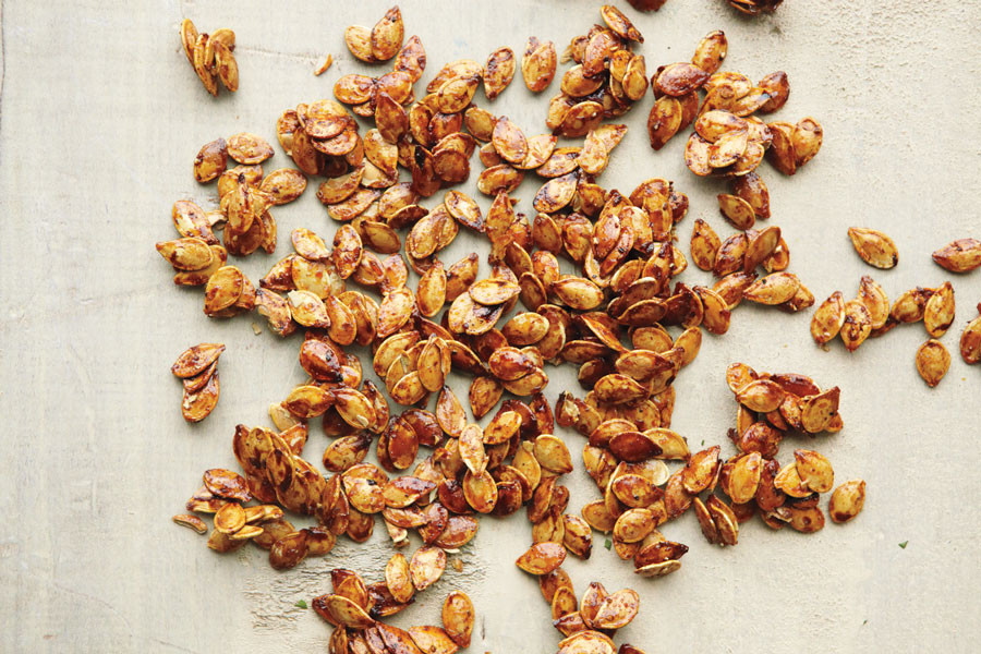 Video: Sweet and Spicy Pumpkin Seeds | Martha Stewart