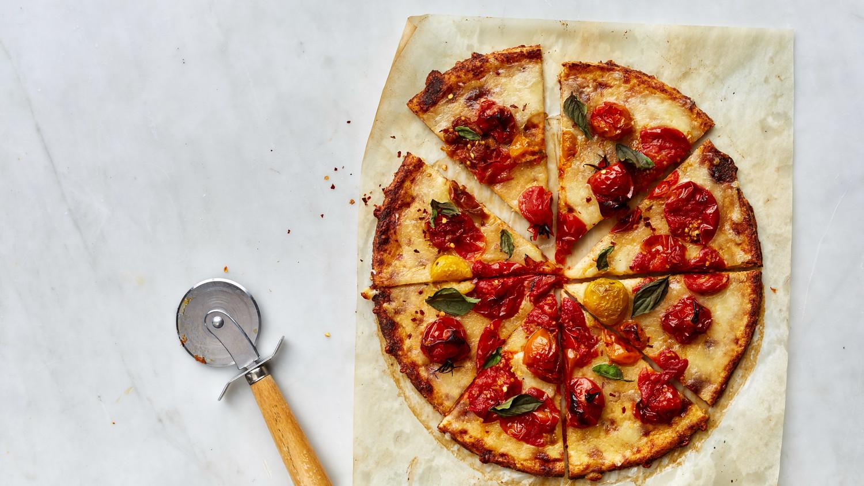 Cauliflower Crust Pizza Margherita