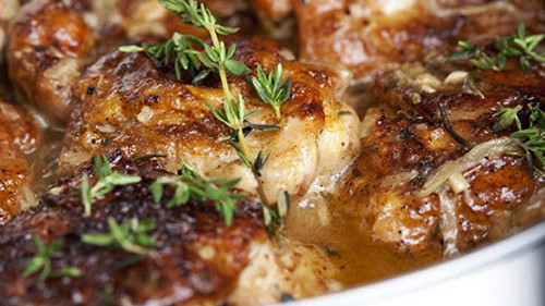 Braised Chicken Thighs