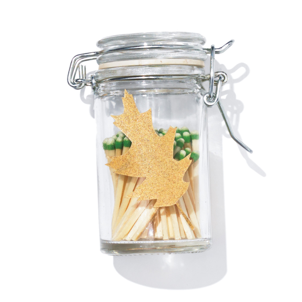Leaf Strike-Anywhere Match Jar