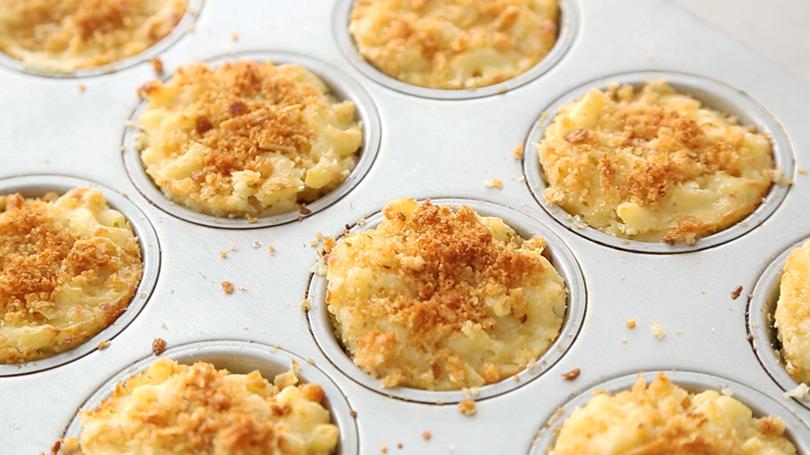 Individual Mac and Cheese Cups