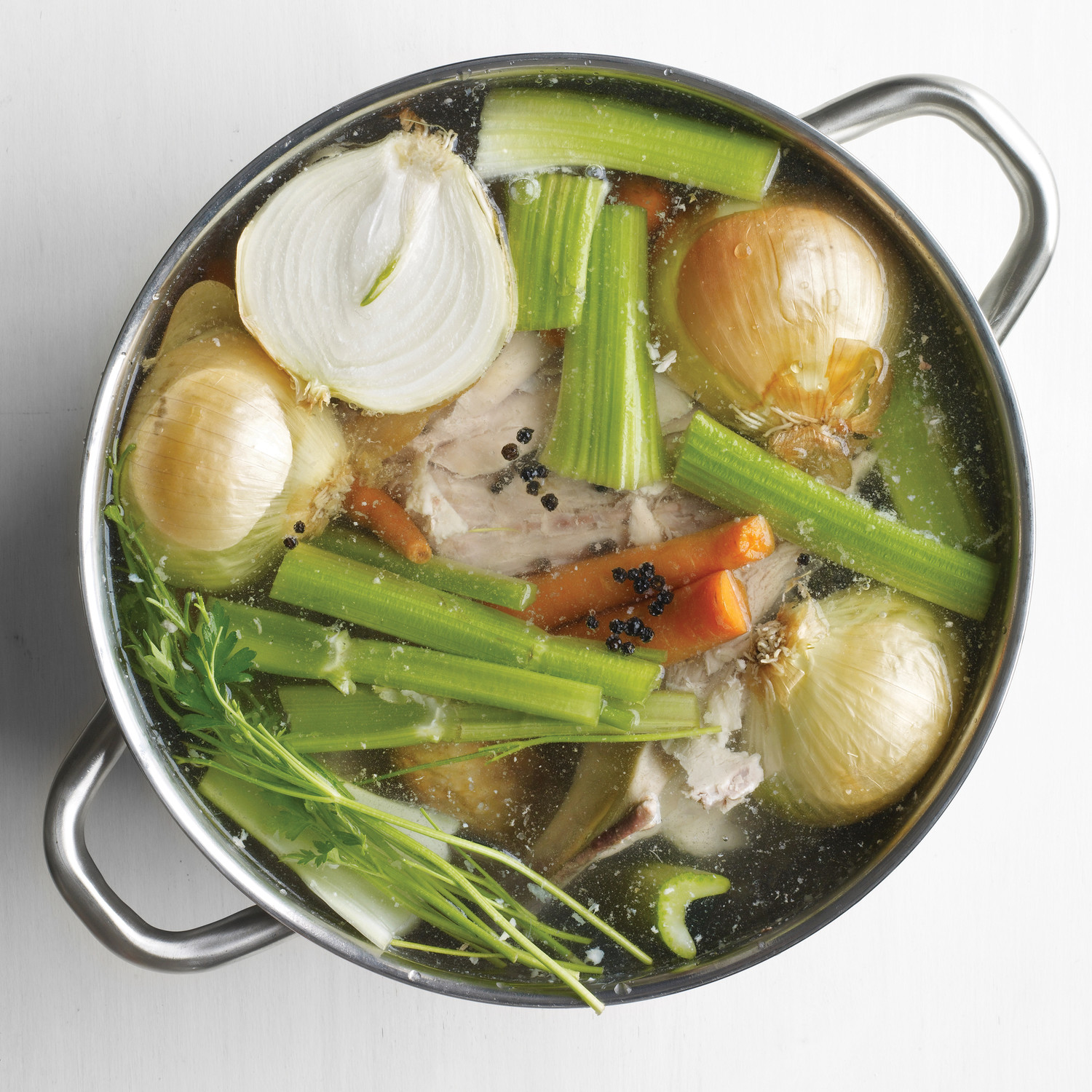 How to Make Easy Turkey Stock | Martha Stewart