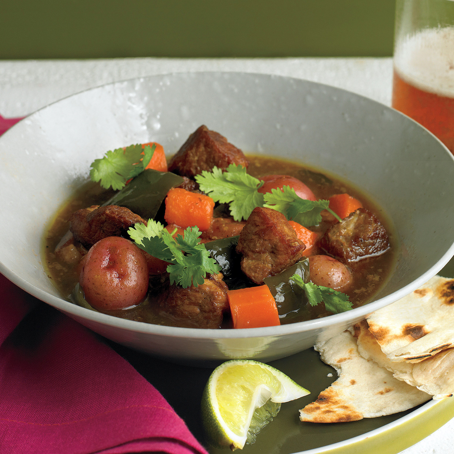Slow-Cooker Green Chili