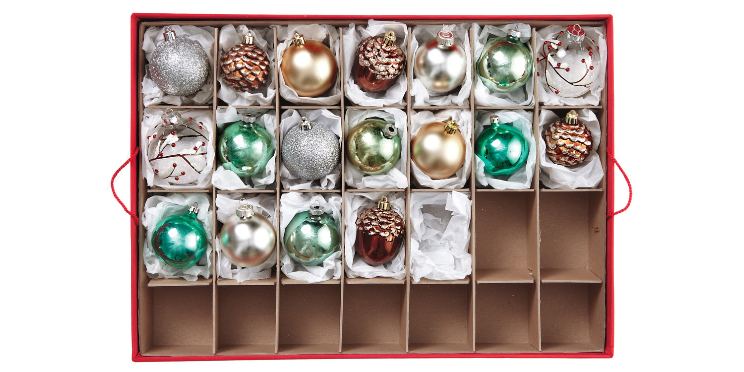 Holiday Decoration Storage Ideas Part - 34: Martha Stewart