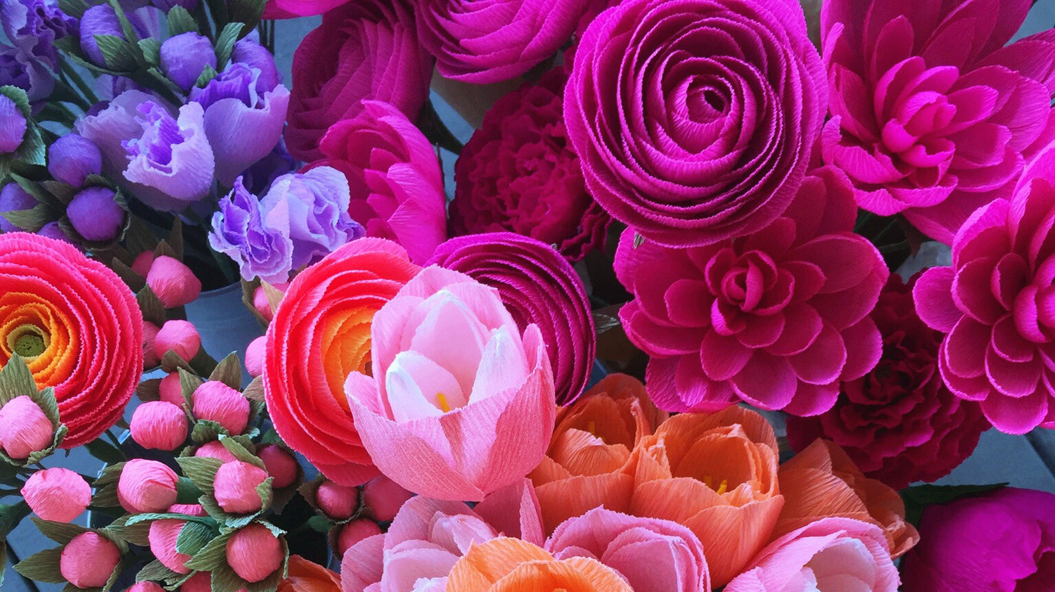 6 Of Our Favorite Paper Flower Artists On Instagram Martha Stewart