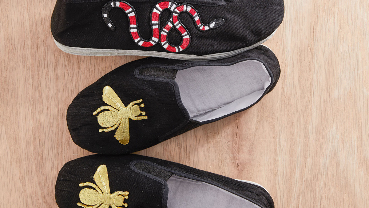 Applique Slip-On Shoes