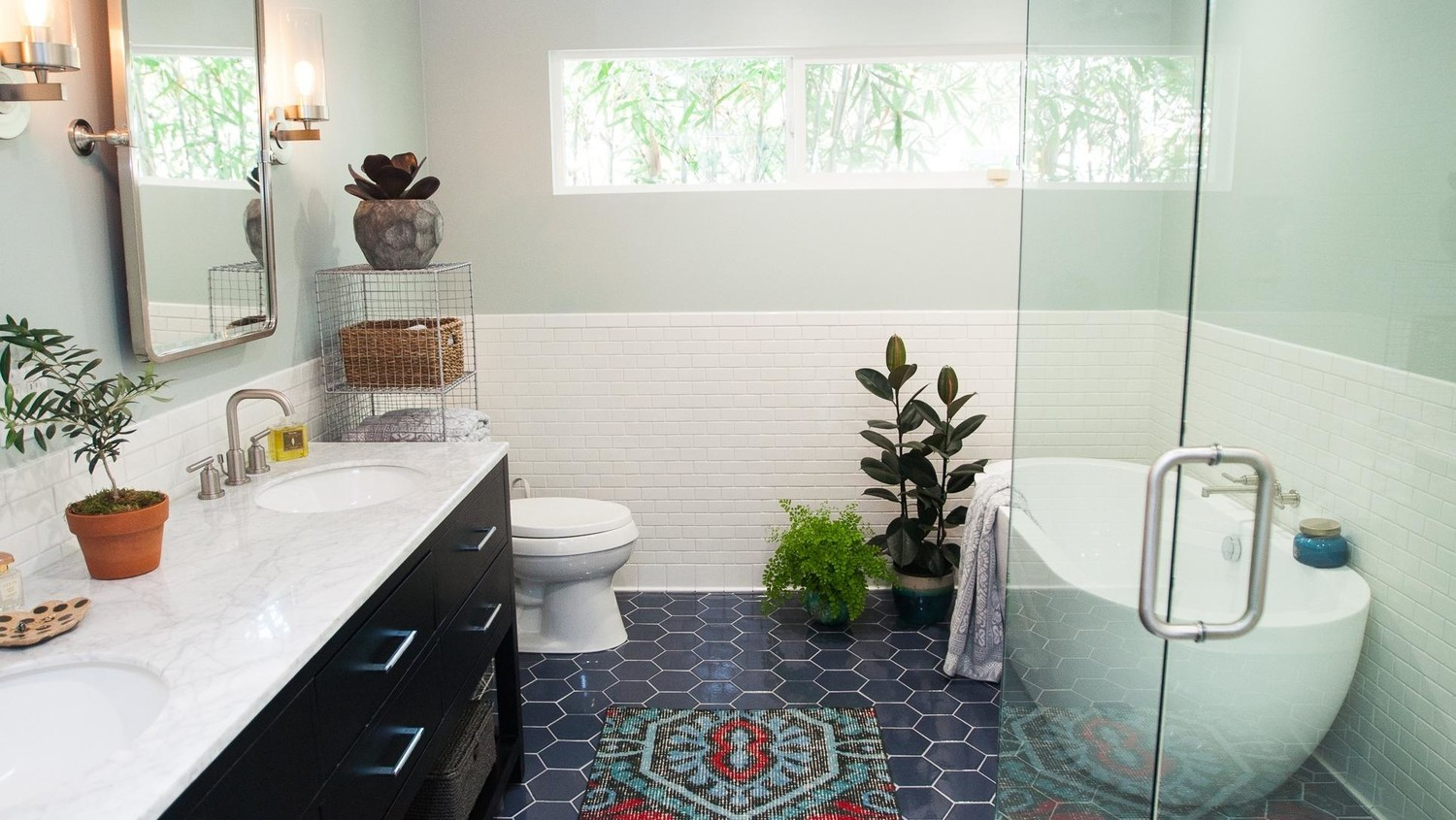 Bathroom Design: A Very U002780s WC Gets A Major Modern Makeover