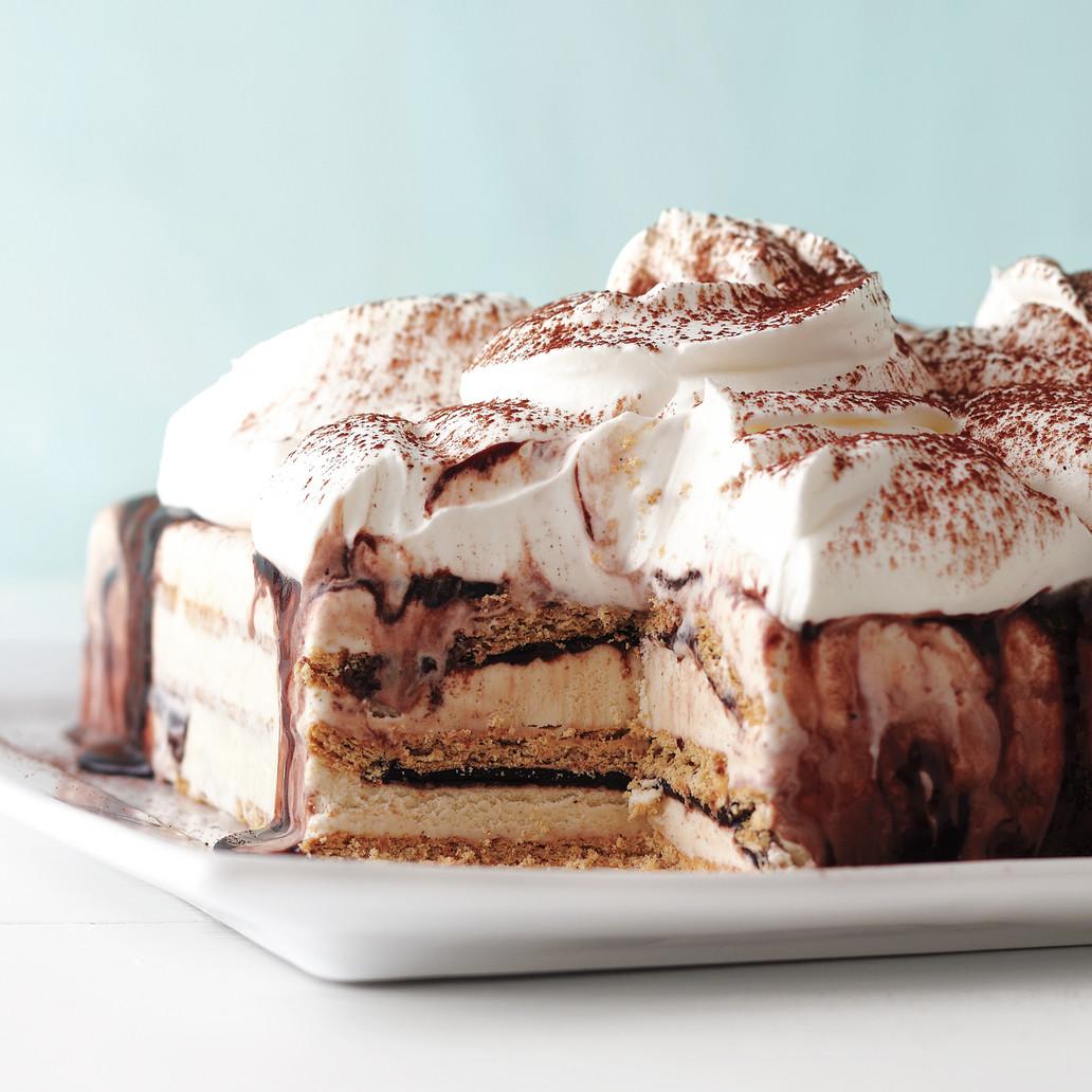 Fudgy Ice Cream Cake
