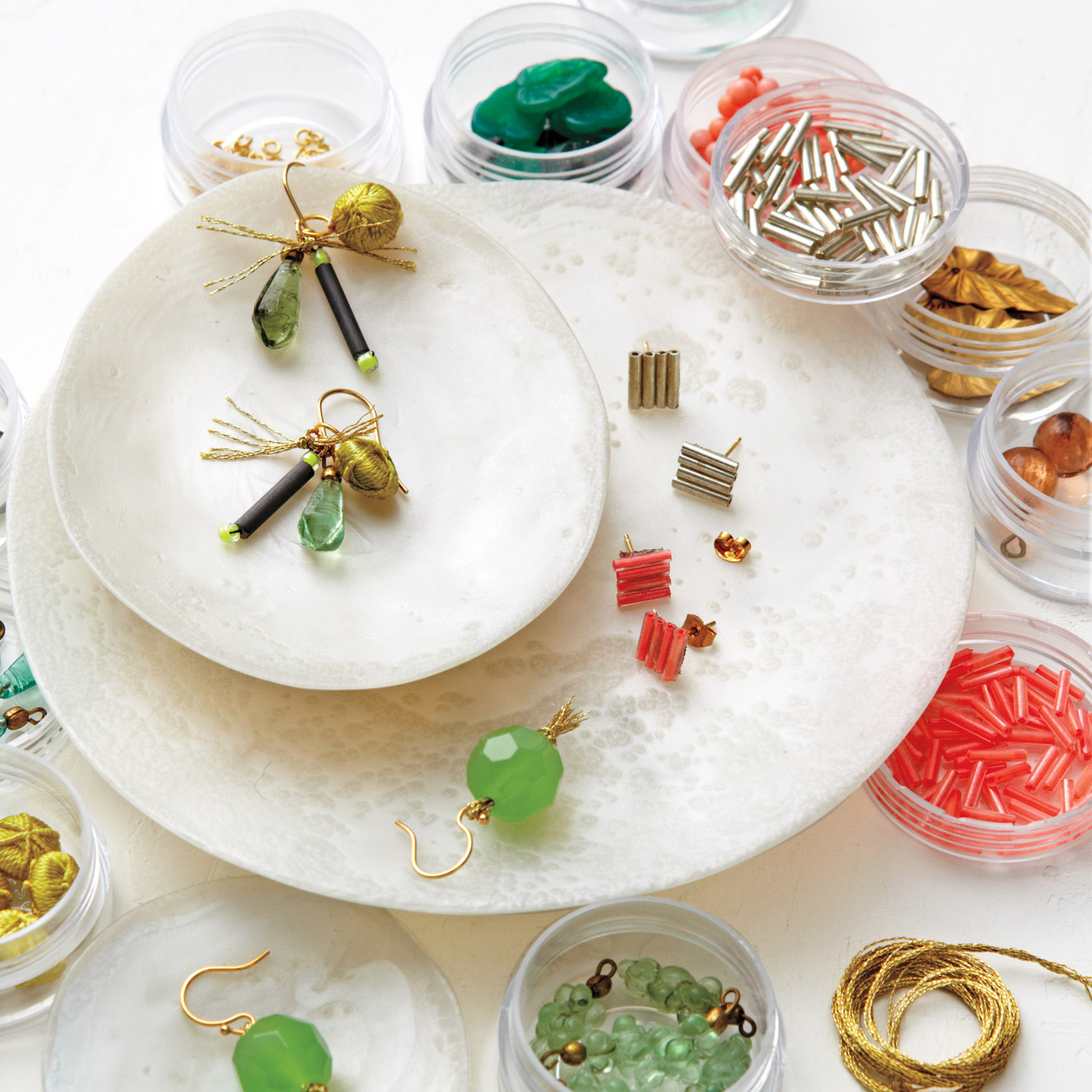 13 Handmade Earrings You Can Make Yourself | Martha Stewart