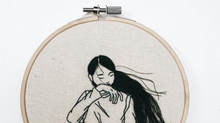 Who Knew This Famous Fashion Model Is A Secret Embroidery Artist