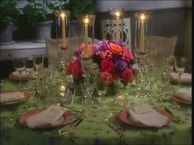 Video Wedding Reception Table Setting Martha Stewart