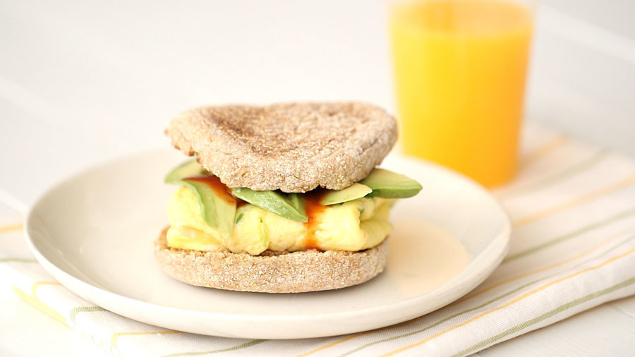 Video: Classic Egg and Avocado Sandwich | Martha Stewart