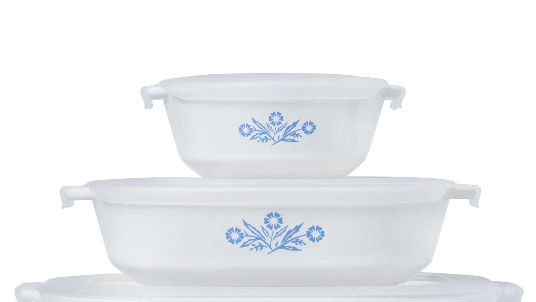 China Lovers Rejoice Blue And White Corningware Is Back Martha