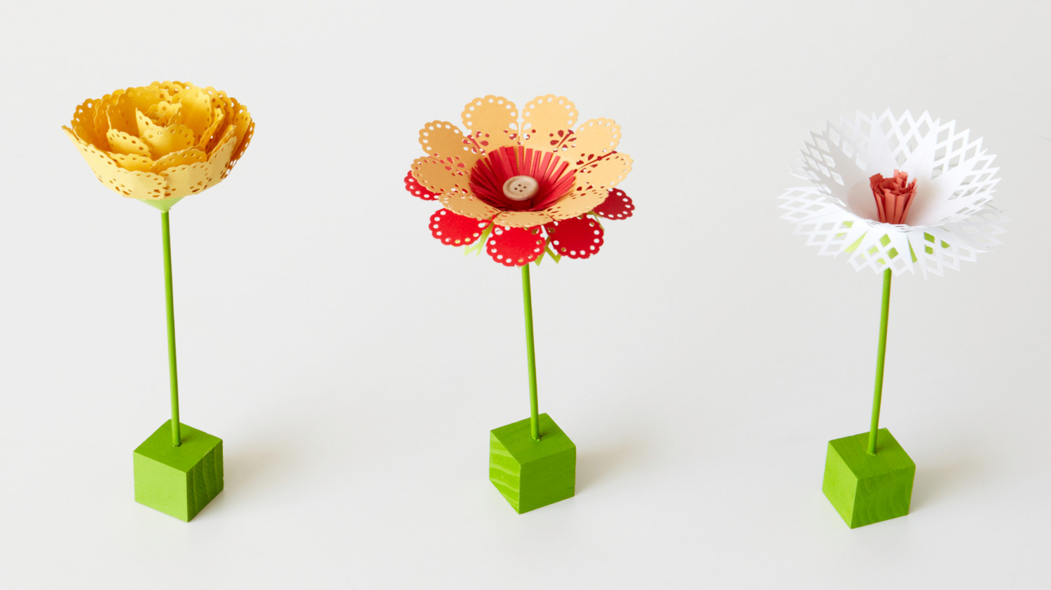 Punched Paper Flowers Martha Stewart