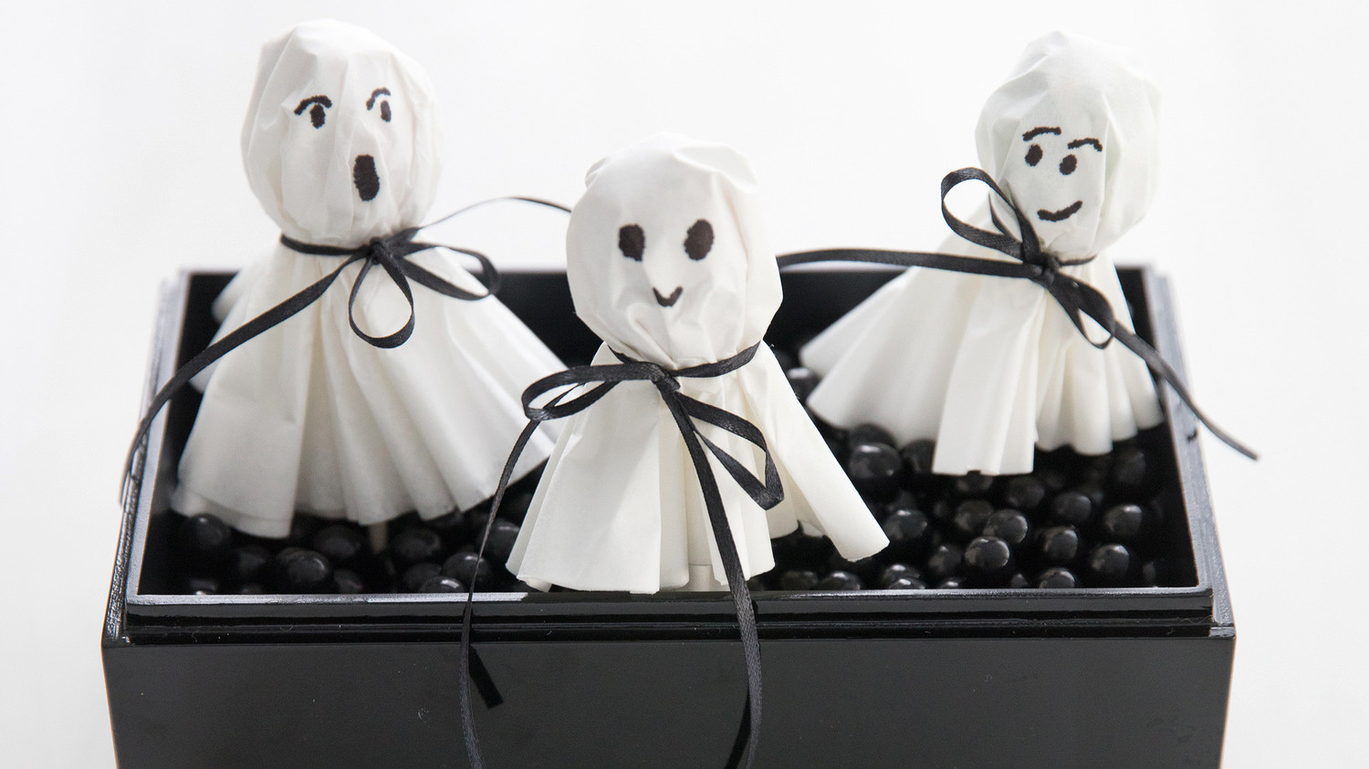 Ghost Lollipop Party Favors