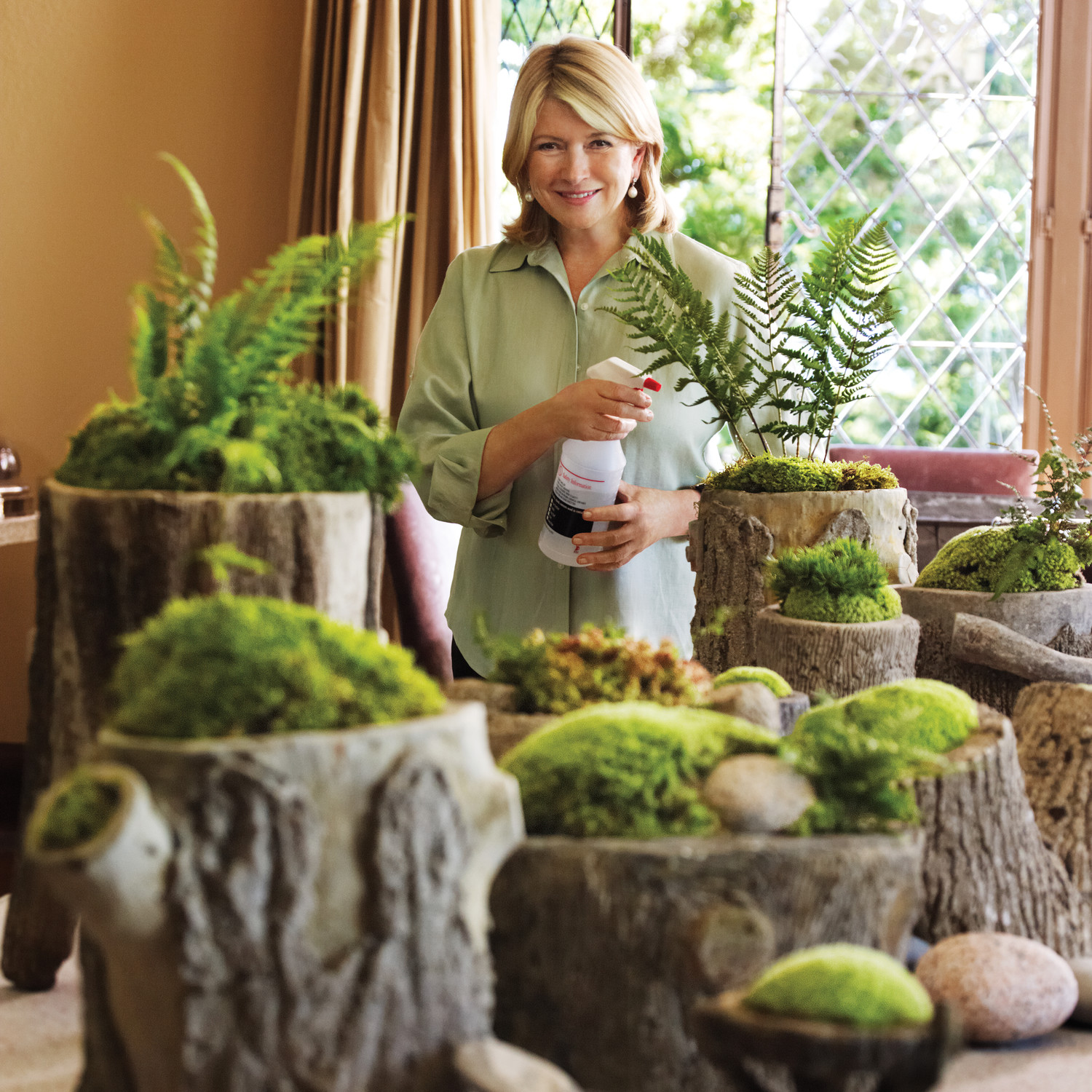 From Martha S Home To Yours Moss Gardens Martha Stewart