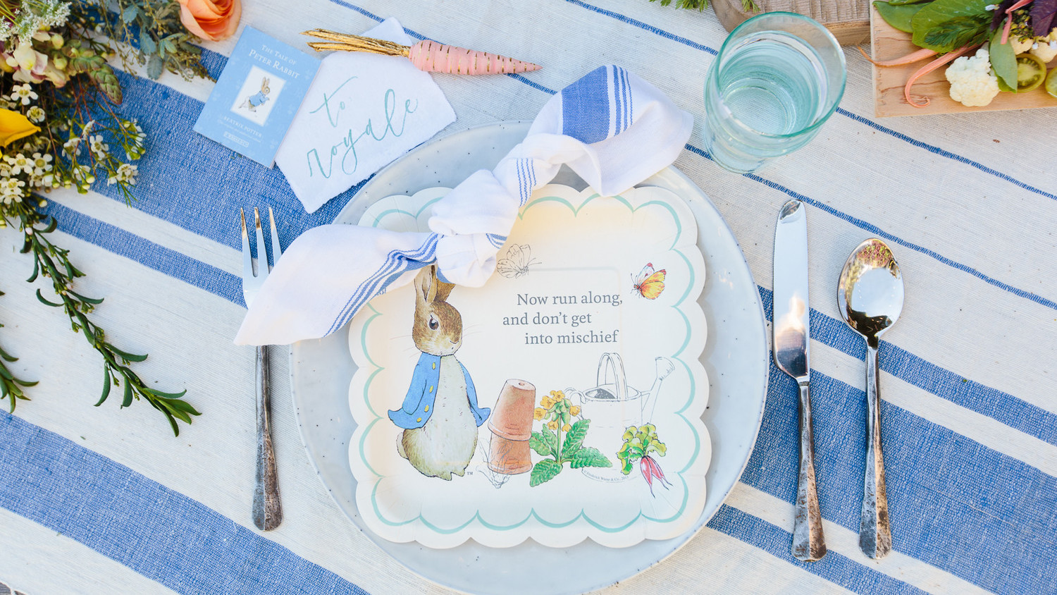 Host A Baby Shower Inspired By Peter Rabbit Martha Stewart