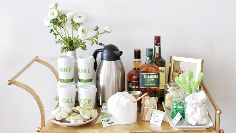 Host a Boozy Irish Coffee Bar for St. Patrick\'s Day | Martha Stewart