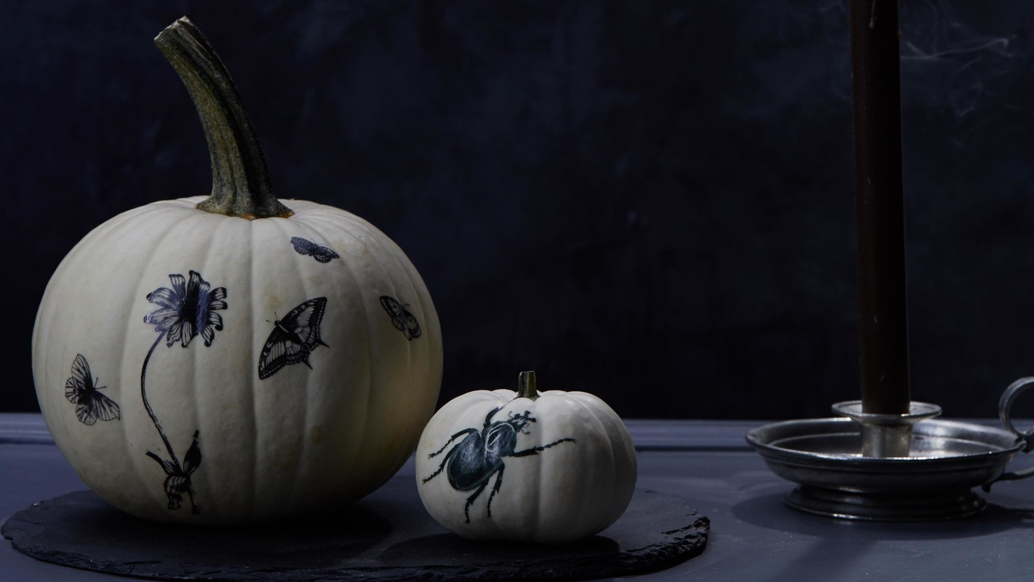 Stick-On Art Pumpkins