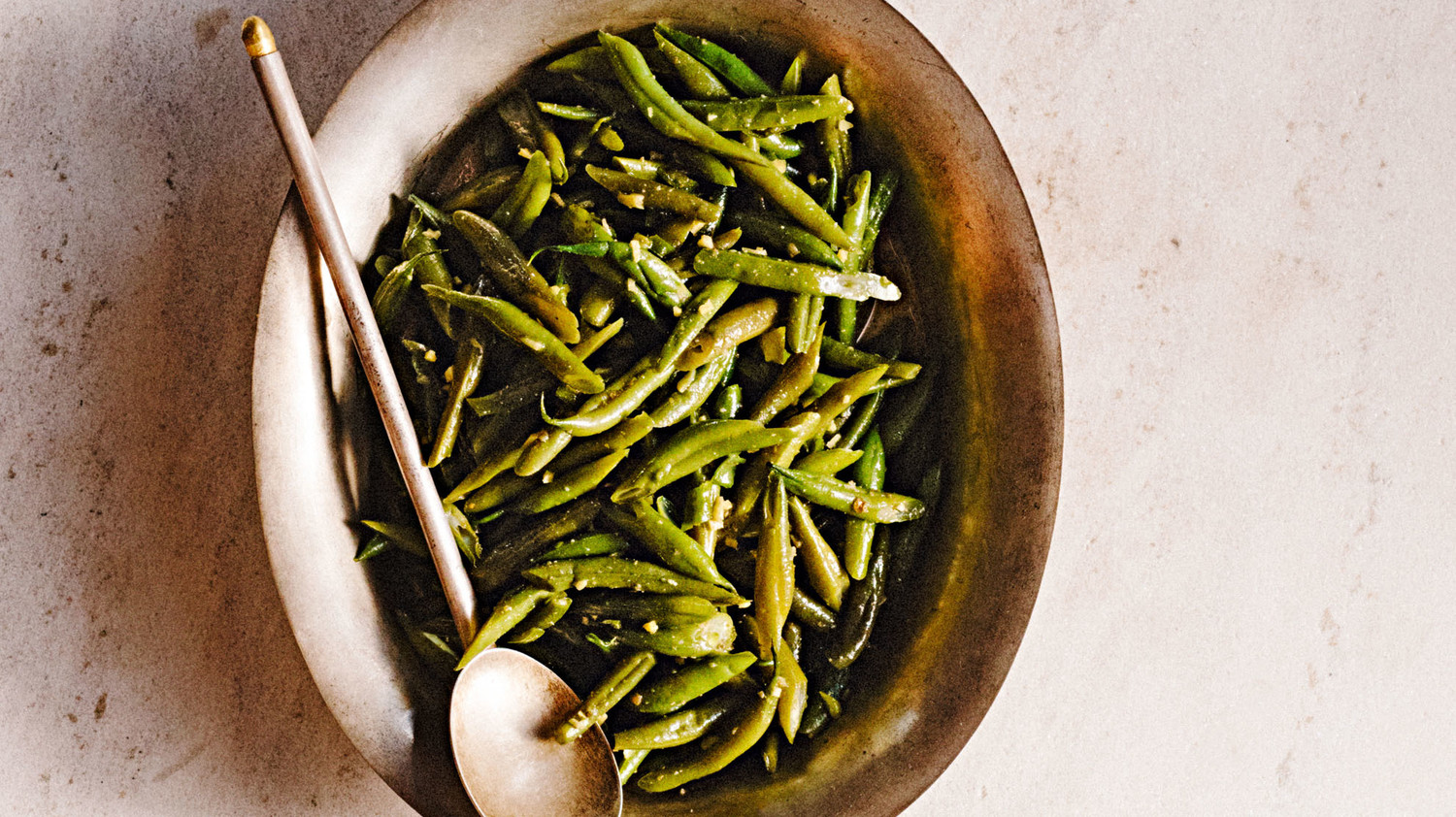 Delhi style green beans for Style green