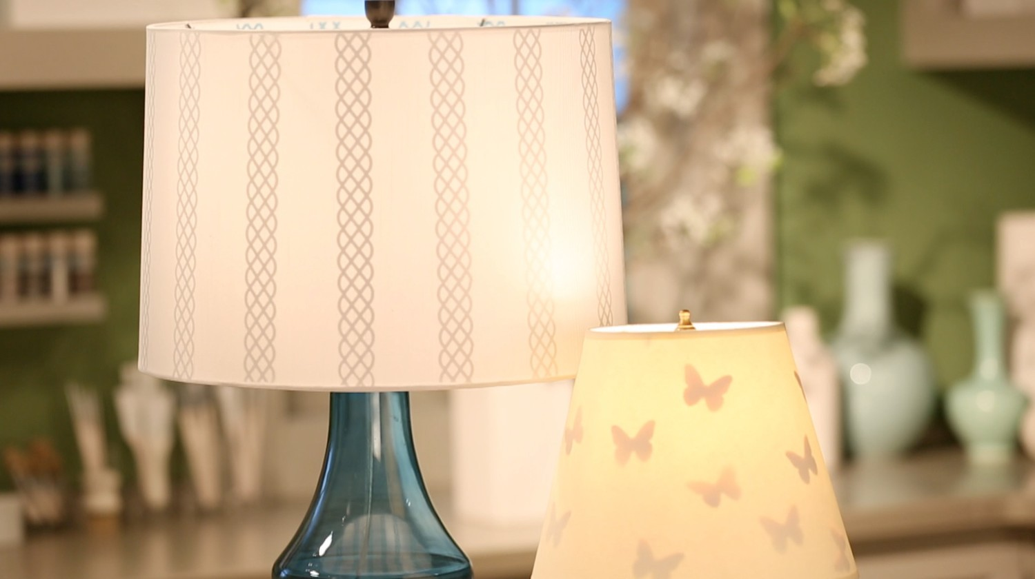 Video how to personalize your lampshade martha stewart aloadofball Gallery