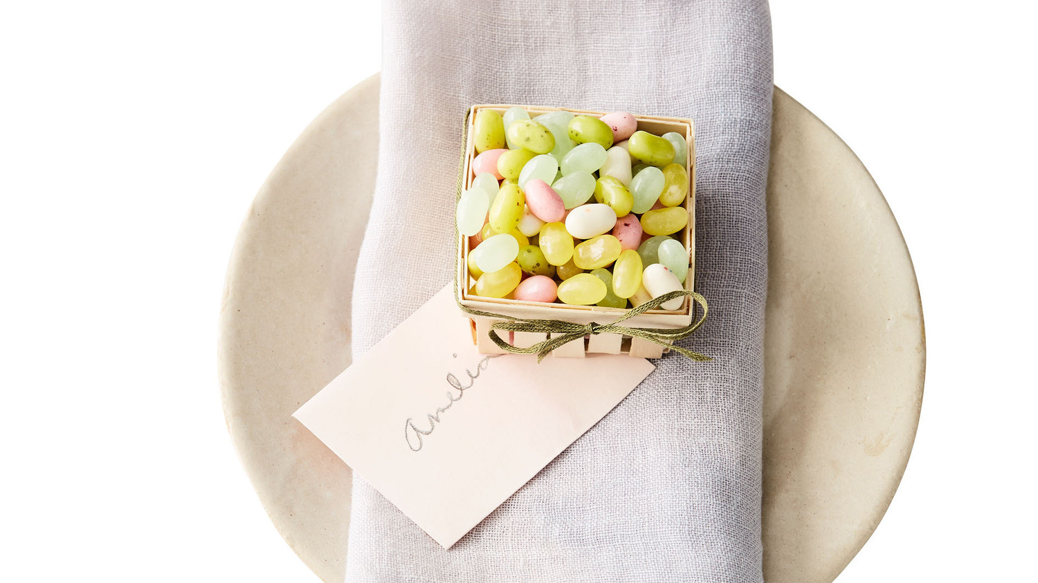 Miniature Easter Candy Basket