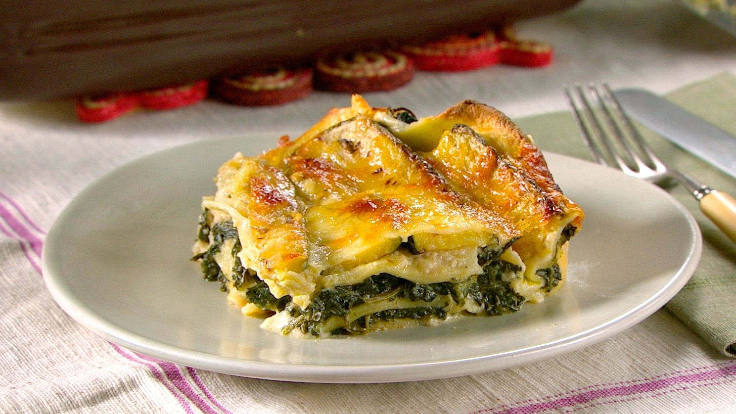 Spinach lasagna for Different kinds of lasagna recipes