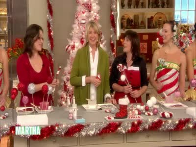 video peppermint christmas tree toppers martha stewart - Peppermint Christmas Tree