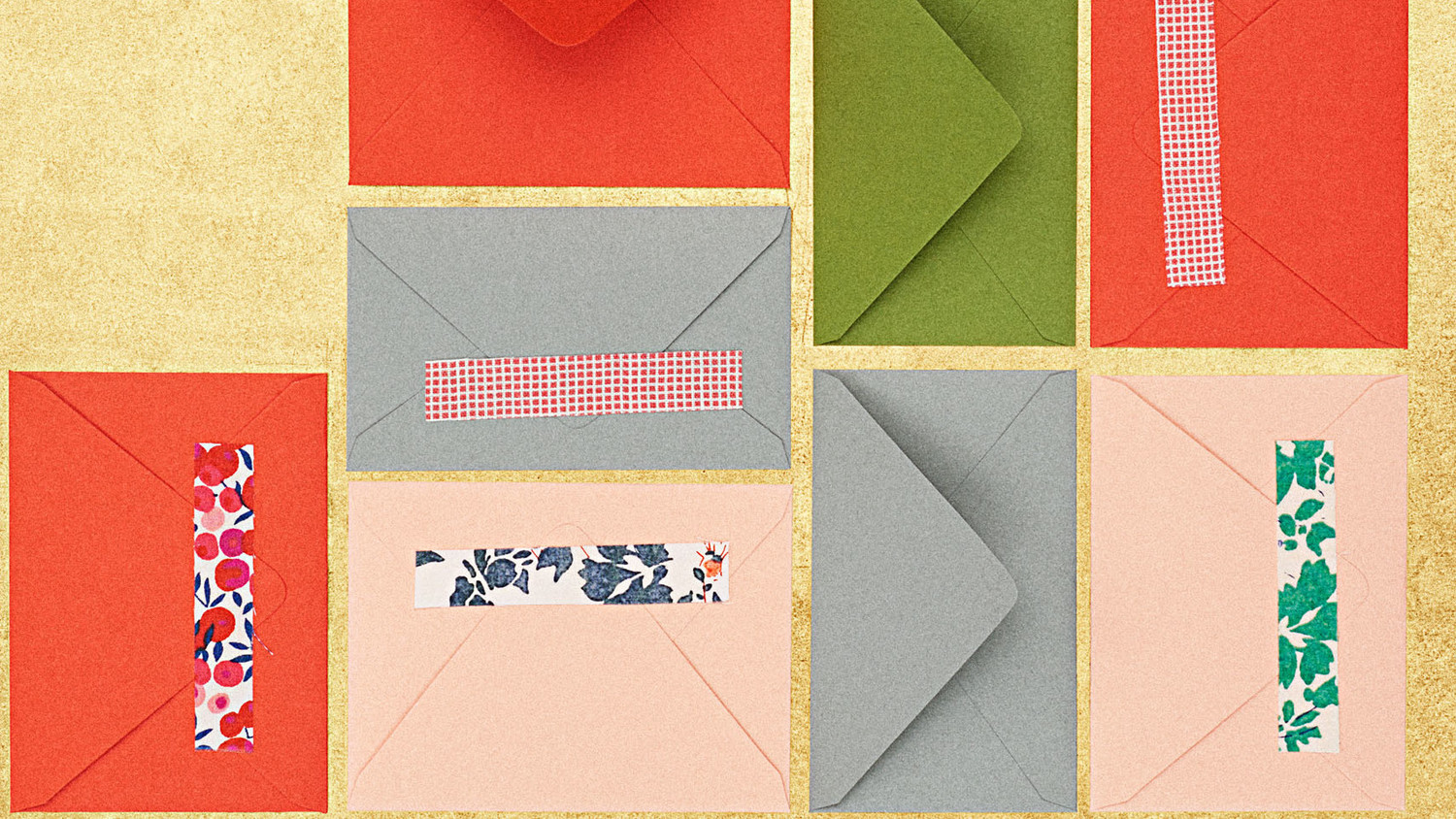 Fabric-Sticker Gift Cards